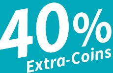 Hol Dir 40% Extra-Coins beim Dirty Double!