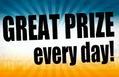 Welcome to the MEGA MayDays! Win great prizes every day!